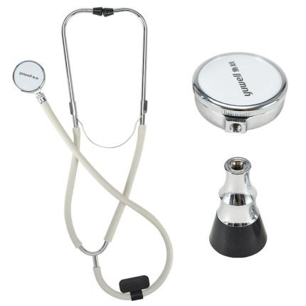 鱼跃牌二用 听诊器 家用医用听诊器双听全铜听头